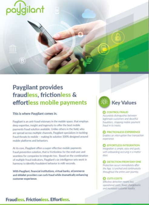 Paygilant Overview Data Sheet