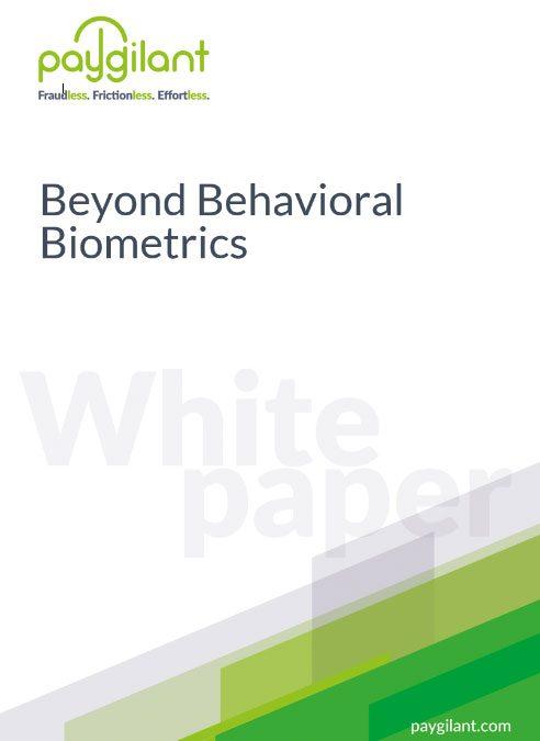 Beyond Behavioral Biometrics