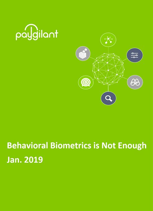 Behavioral Biometrics is Not Enough