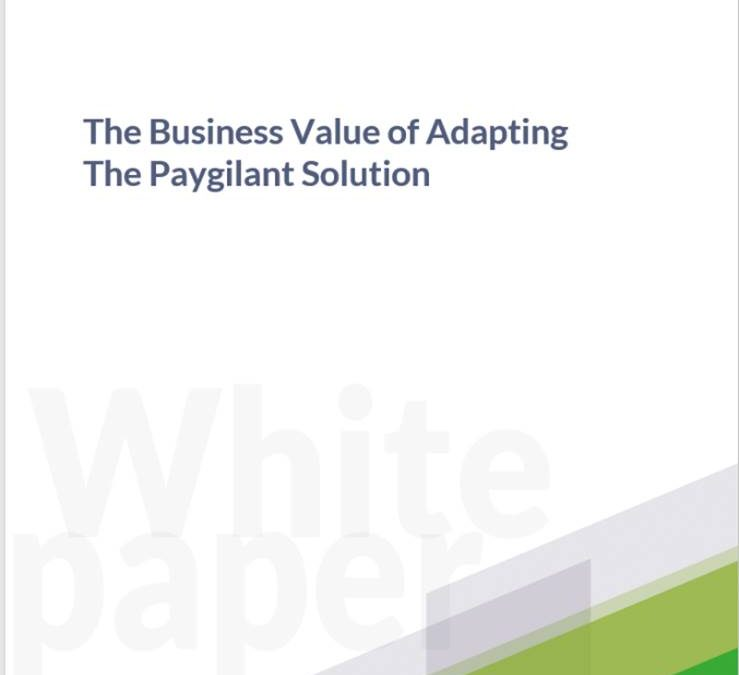 The Business Value of Adopting – The Paygilant Solution