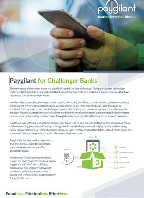 Paygilant for Challenger Banks