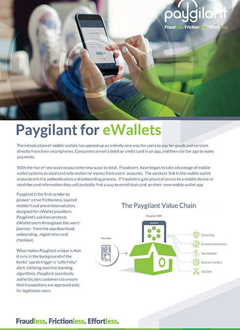 Paygilant for eWallets