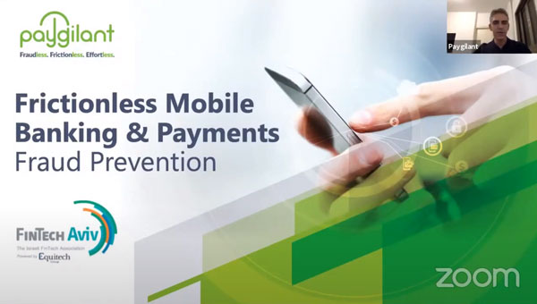 Frictionless Mobile Banking & Payments Fraud Prevention